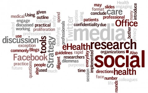 A word cloud of the eHIPP abstract